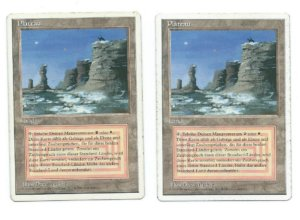 Magic MTG 2x FWB Plateau German front