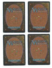 Magic MTG 4x Ice Storm Unlimited back