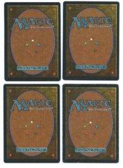 Magic MTG 4x Kird Ape Arabian Nights back