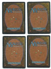 Magic MTG 4x Rukh Egg Arabian Nights back