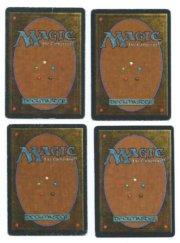 Magic MTG Antiquities strip mine complete set fback