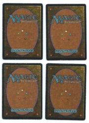 Magic MTG Beta 4x Sinkhole playset back