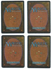 Magic MTG playset 4x Sinkhole Alpha Beta played back