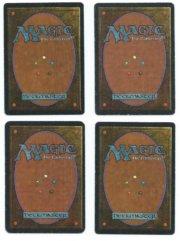 Magic MTG playset 4x Sinkhole Alpha Beta played back