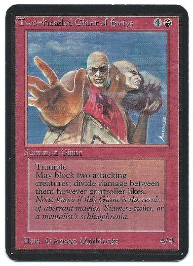 Alpha Two-Headed Giant of Foriys