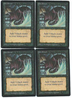 Beta 4x Dark Ritual