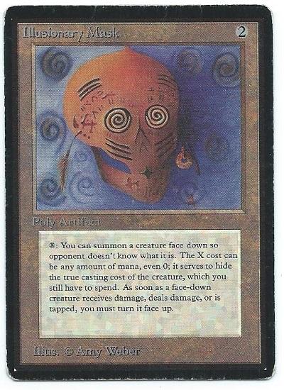Beta Illusionary Mask