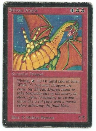 Beta Shivan Dragon