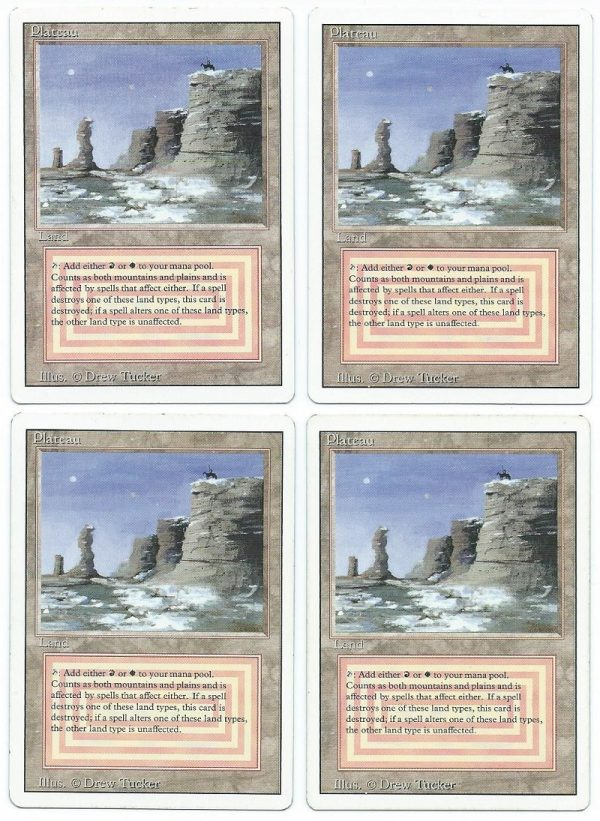 Playset 4x Plateau revised