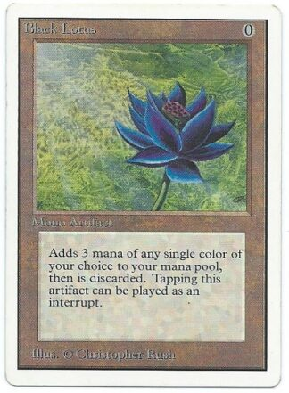 unlimited black lotus