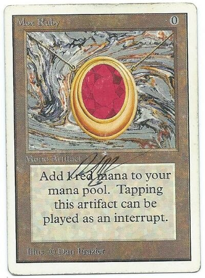 Mox Ruby Unlimited