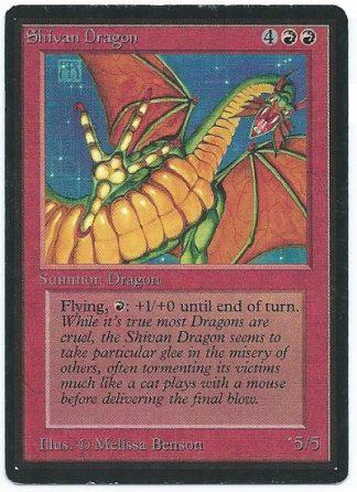 Beta Shivan Dragon Near Mint