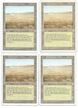 Savannah 4x duel land playset