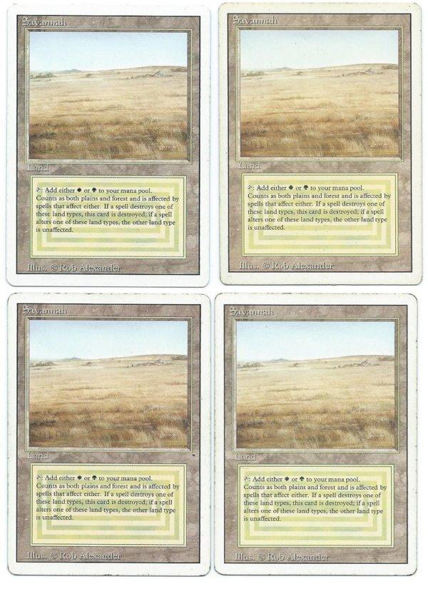 Savannah 4x duel land playset