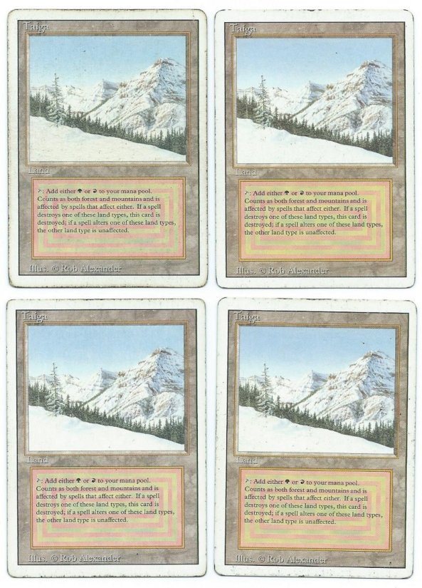 Revised duel land playset taiga