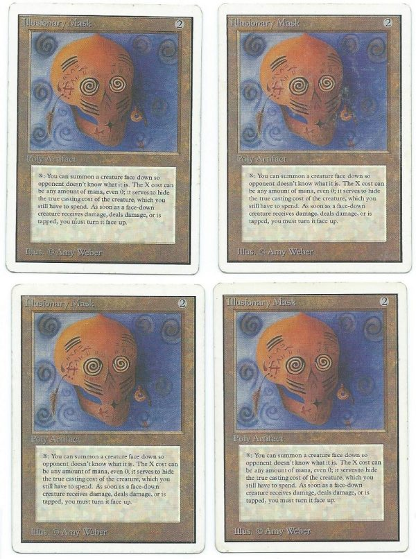 4x Unlimited Illusionary Mask front