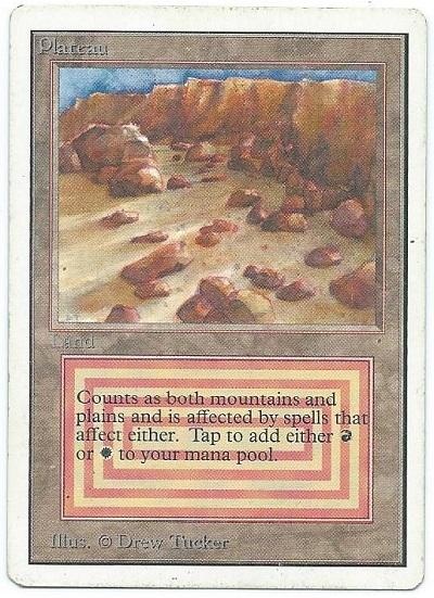 Unlimited Plateau dual land front