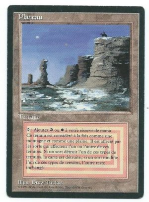 Magic MTG FBB Plateau French front #2