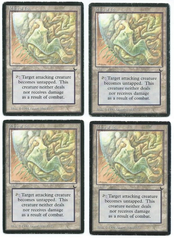 The Dark 4x Maze of Ith playset front