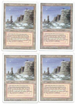 revised 4 plateau MTG card