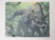 brontotherium original painting