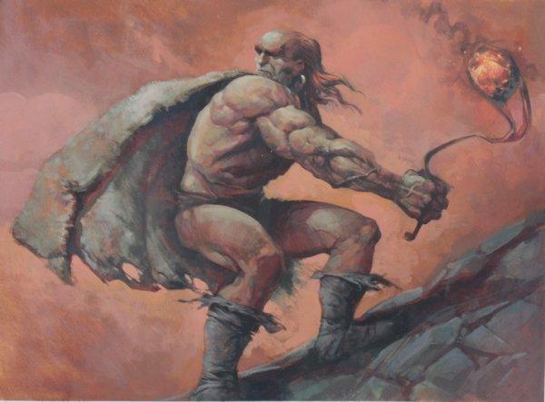 hammerheim deadeye original art