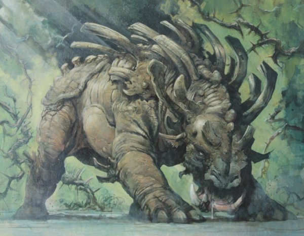 kurdagon original MTG art