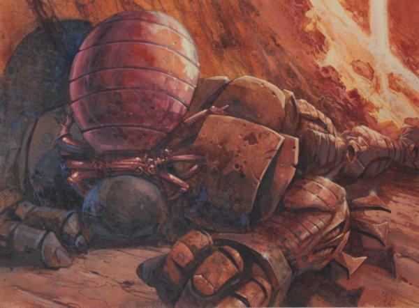 rust tick original artwork