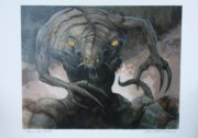 Magic the Gathering original painting from the Torment set