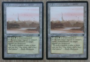 Magic MTG Legends Karakas front