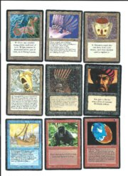 Magic MTG Arabian Nights Lot front