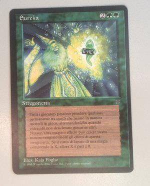 Magic MTG Legends FBB Eureka Italian front