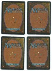 Magic MTG the Gathering Beta 1x Sinkhole back