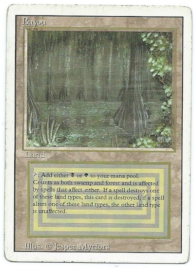 revised bayou dual land front