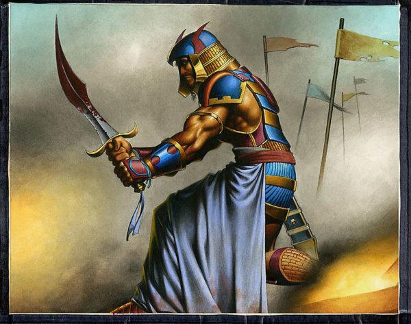 Mercenary Informer Magic the Gathering original artwork