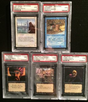 Lot Arabian Nights PSA front