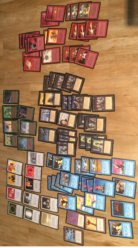 Magic Gathering MTG Beta cards collection