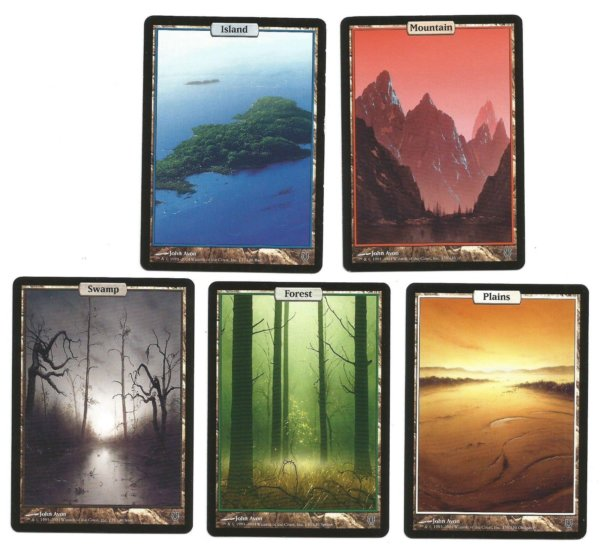 Unhinged lands complete set front
