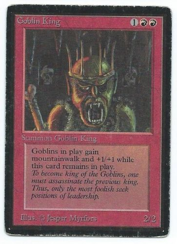Beta Goblin King front
