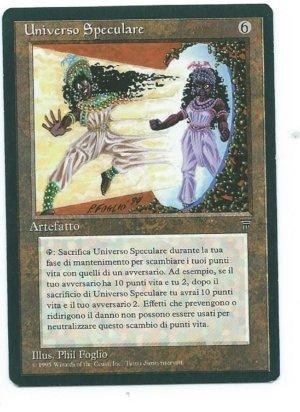 Italian Legends Universo Speculare Mirror Universe front