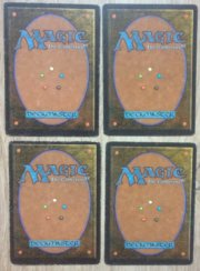 Magic MTG 4x Psionic Blast Unlimited back