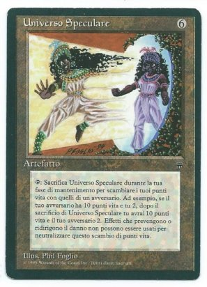 Magic MTG FBB Mirror Universe Italian Legends front