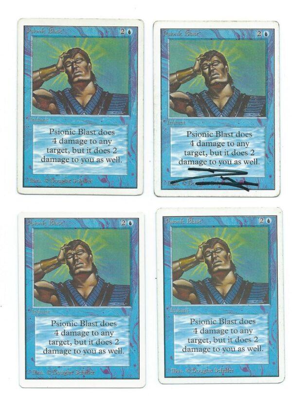 Magic MTG Unlimited Psionic Blast front