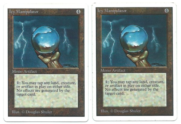 Unlimited 2x Icy Manipulator front