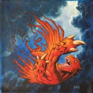 Spin into myth original artwork