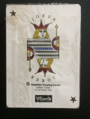 Yaquinto poker deck