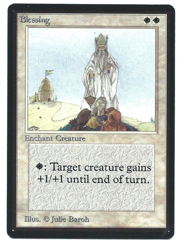 Beta Blessing front