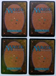 Magic MTG FBB Swords to Plowshares Italian back