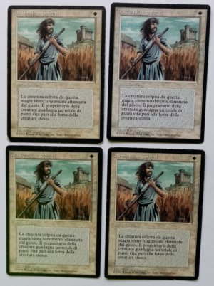 Magic MTG FBB Swords to Plowshares Italian front