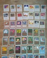 Magic MTG Unlimited lot 89 cards detail